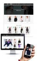 Адаптивный дизайн интернет-магазина детских товаров