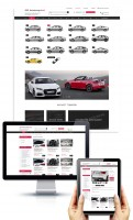 Адаптивный дизайн сайта-каталога Autotuning-Audi