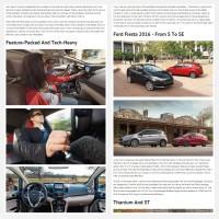 """Постинг статьи """"Ford Fiesta 2016"""""""