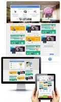 Проект-менеджмент дизайна лендинга веб-студии, идея инфографики
