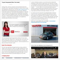 "Постинг статьи ""Toyota Hempstead (New York state)"""