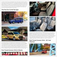 """Постинг статьи """"Ford Transit Connect 2016"""""""