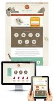 Дизайн интернет-магазина по продаже обуви из войлока