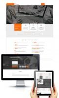 Адаптивный дизайн лендинга IT-компании VDSUP