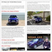 "Постинг статьи ""2015 Nissan Juke: The Best Midsize Crossover"""