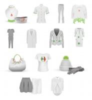 Набор иконок для каталога одежды (13 шт.)