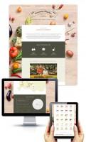 Дизайн сайта-каталога доставки продуктов консервации