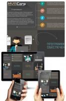 Дизайн сайта MVACorp