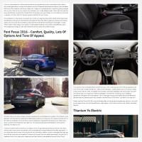 """Постинг статьи """"Ford Focus 2016"""""""