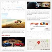 """Постинг статьи """"Toyota Antioch Dealership (California)"""""""