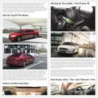 """Постинг статьи """"Ford Fusion 2016"""""""