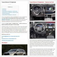 """Постинг статьи """"Toyota 4Runner VS Highlander"""""""