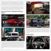 "Постинг статьи ""Ford Transit 2015"""