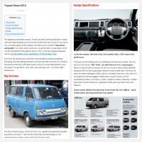 """Постинг статьи """"Toyota Hiace 2016"""""""