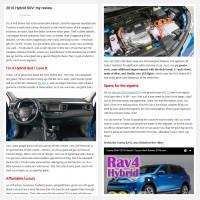 "Постинг статьи ""2016 Hybrid SUV: my review"""