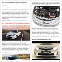 "Постинг статьи ""2010 Toyota Camry Hybrid review – strengths and weaknesses"""