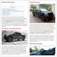"Постинг статьи ""Blacked Out Tundra Toyota"""