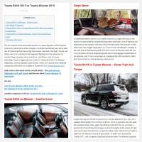 """Постинг статьи """"Toyota RAV4 2015 vs Toyota 4Runner 2015"""""""