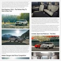 """Постинг статьи """"Ford Explorer 2016"""""""