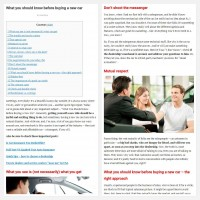 "Постинг статьи ""What you should know before buying a new car"""