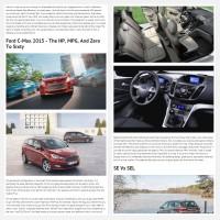 "Постинг статьи ""Ford C Max 2015"""