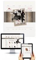Дизайн интернет-магазина обуви StepLand