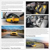 """Постинг статьи """"Ford Focus ST 2015"""""""