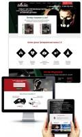 Дизайн лендинга по продаже тренировочных масок