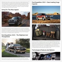 """Постинг статьи """"Ford Expedition 2015"""""""