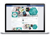 Дизайн страницы Facebook для веб-студии