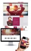 Адаптивный дизайн и разработка сайта по HR-консультациям