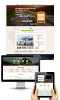 Дизайн и разработка лендинга по продаже туров Донецк-Киев