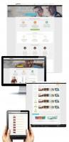 Дизайн сайта-сервиса фриланса 5bucks (2 варианта)