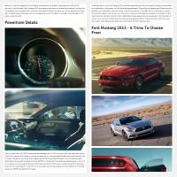"""Постинг статьи """"Ford Mustang 2015"""""""