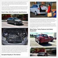 "Постинг статьи ""Ford C Max 2016"""
