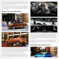 """Постинг статьи """"Ford Fiesta 2015"""""""
