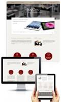 Дизайн сайта компании-разработчика мобильных приложений NeuOne