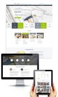 Дизайн главной и внутренней страницы сайта RemTambov