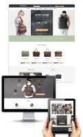 Дизайн главной страницы интернет-магазина фирменной одежды