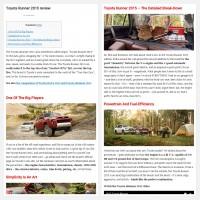 """Постинг статьи """"Toyota Runner 2015 review"""""""