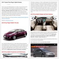 """Постинг статьи """"2015 Toyota Prius Plug-in Hybrid: Review"""""""