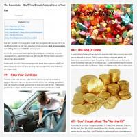 "Постинг статьи ""The Essentials – Stuff You Should Always Have In Your Car"""