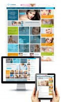 Дизайн электронного СМИ по хирургии и косметологии TecRussia