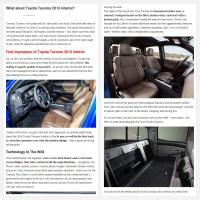 "Постинг статьи ""What about Toyota Tacoma 2016 interior?"""