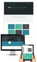 Дизайн Главной и внутренней страниц IT-компании IDEX