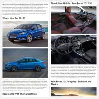 """Постинг статьи """"Ford Focus 2015"""""""