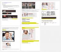 Иллюстрированное техзадание по изменению шаблона сайта по инвестированию