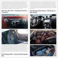 """Постинг статьи """"Ford Mustang 2016"""""""