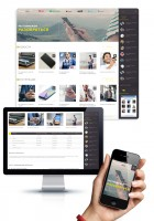 Адаптивный дизайн блога о телефонии Pozvonimne.info