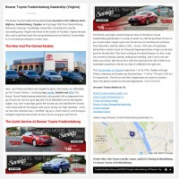 """Постинг статьи """"Rosner Toyota Fredericksburg Dealership (Virginia)"""""""